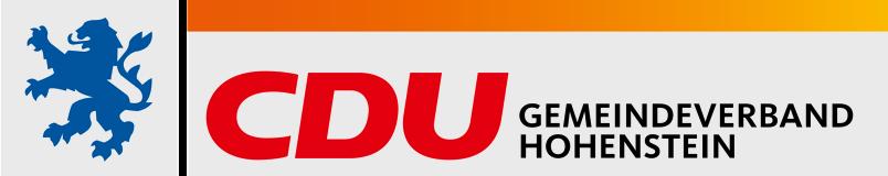 Logo von CDU Hohenstein
