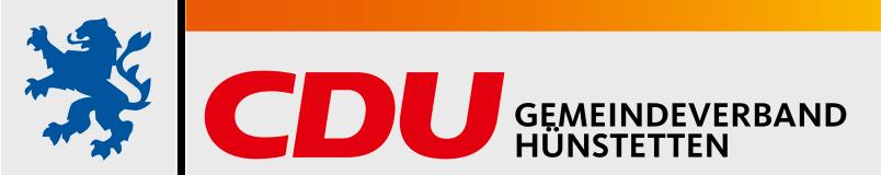Logo von CDU Hünstetten
