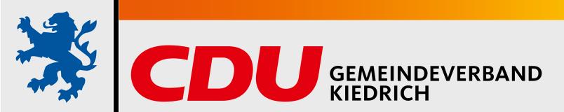 Logo von CDU Kiedrich