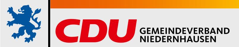 Logo von CDU Niedernhausen