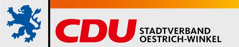Logo von Herzlich Willkommen bei der CDU Oestrich-Winkel
